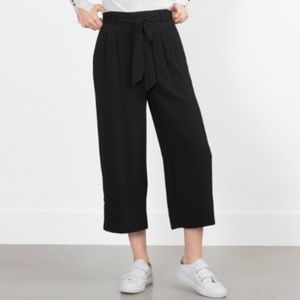Zara Highrise Tie Culottes